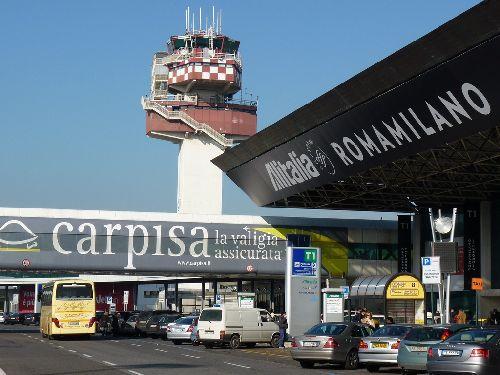"""Терминал аэропорта """"Фьюмичино"""""""