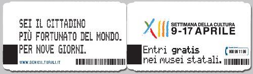 """Билет на """"Settimana"""""""
