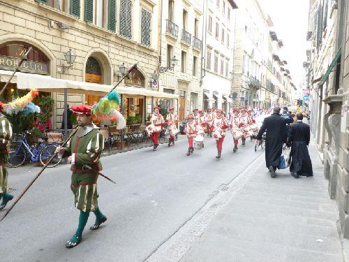 Парадное шествие 25 марта, Флоренция