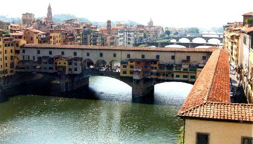 """Флоренция, мост """"Поне Веккьо"""""""