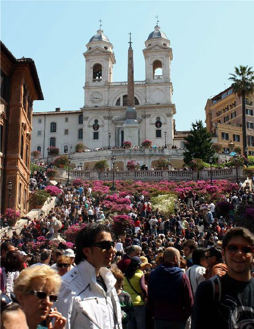Во «Festa della Primavera» царит воздушная, праздничная атмосфера