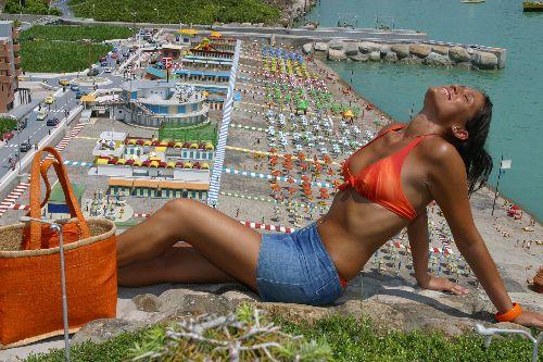 """Экспозиция """"Пляжи"""" в парке """"Италия в миниатюре"""""""