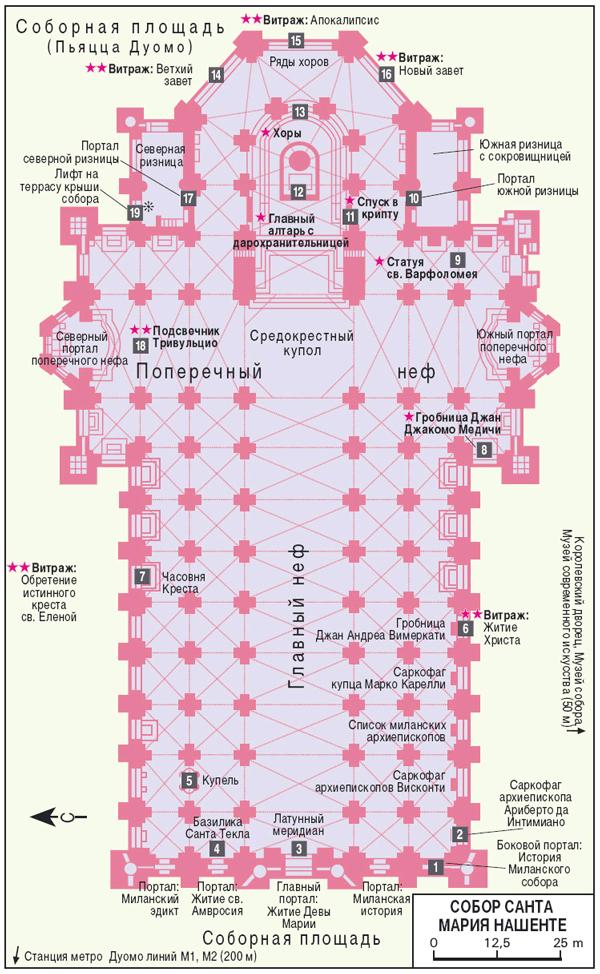 Схематическая карта планировки