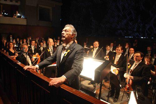 Выступление оркестра, Флоренция