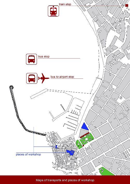 """План аэропорта """"Фертилло"""""""