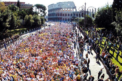 Римский марафон доказывает то, что Рим любят и ценят много итальянцев