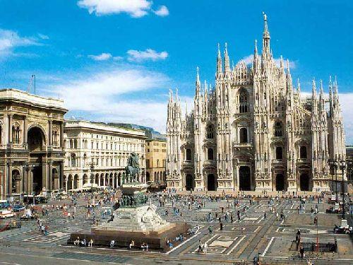 """""""Piazza Duomo"""" - сердце Милана с громадным христианским собором """"Santa Maria Nascente"""""""