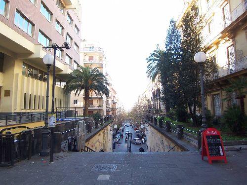 В марте воздух в Неаполе начинает постепенно прогреваться