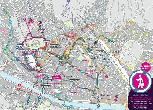 Новые автобусные маршруты, карта