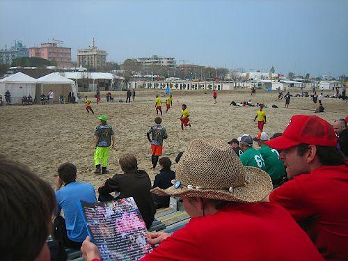 «Paganello», соревнования на пляже