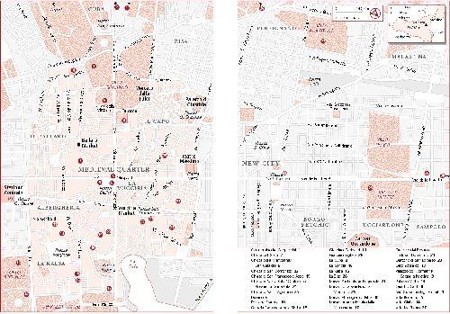 Вторая карта достопримечательностей Палермо