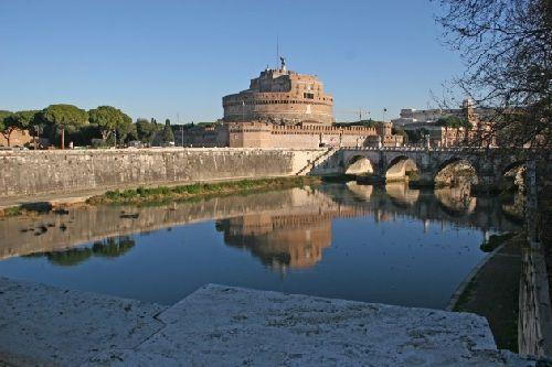 Апрельский Рим, вид на Ватикан