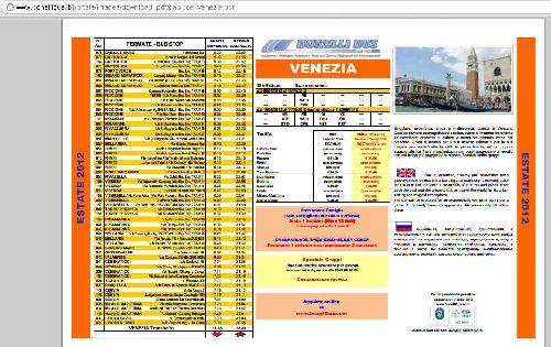 """Расписание автобусов по направлению """"Римини-Венеция"""" на Boneli Bus"""