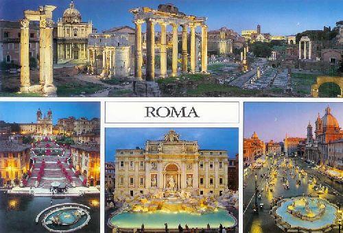 Где находятся основные достопримечательности Рима, можно узнать, обратившись к карте