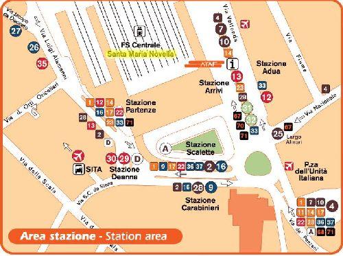 Расположение «Санта Мария Новелла» на карте