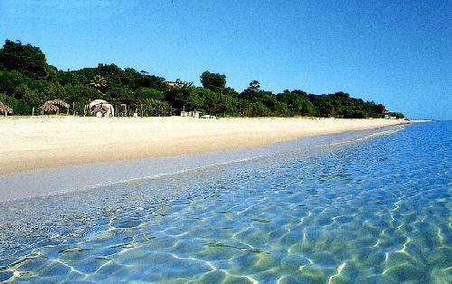 Пляж северо-западного города Альгеро