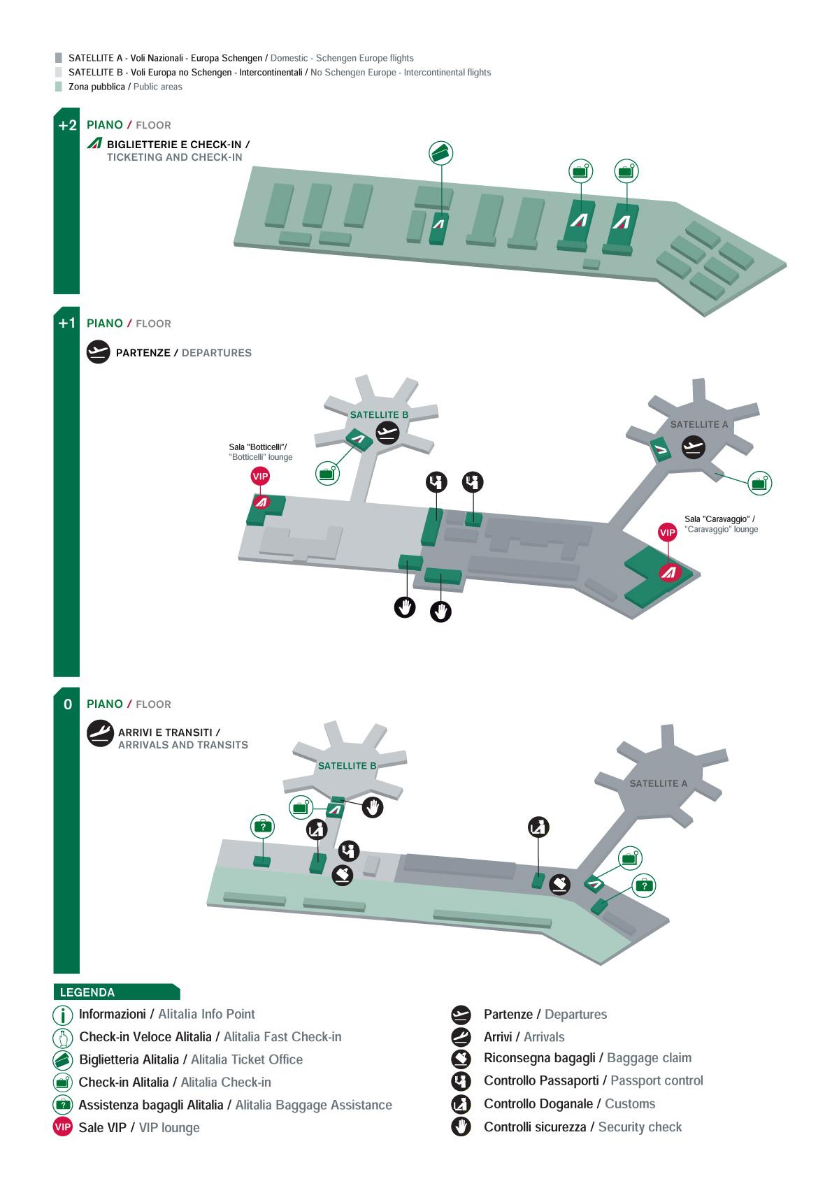 Аэропорт мальпенса схема