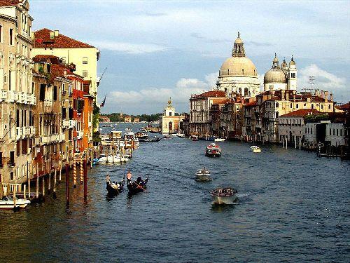 В марте Венеция только начинает просыпаться от зимней спячки