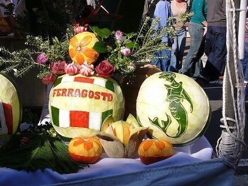 День Феррагосто в Италии